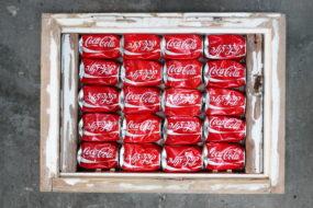 Coca Cola in the window